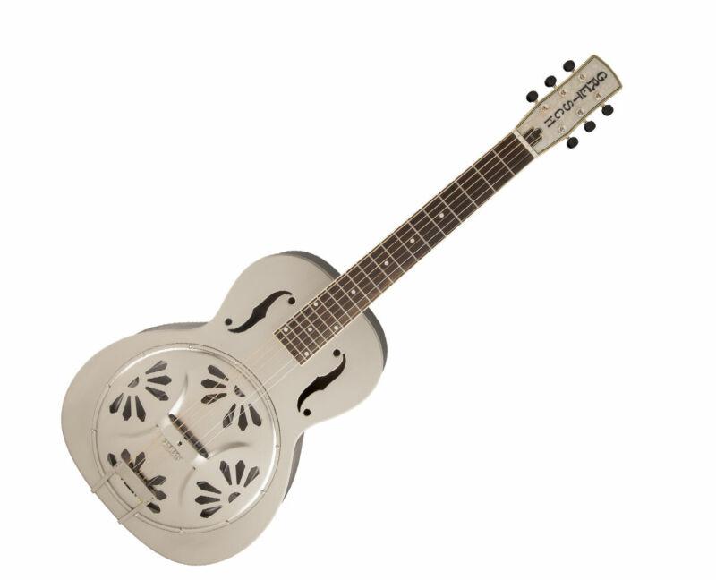Gretsch G9231 Bobtail Steel Square-Neck A.E., Steel Body Resonator Guitar - Used