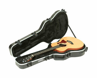 SKB 1SKB-GSM GS-Mini Taylor Acoustic Guitar Shaped Hardshell Travel Case