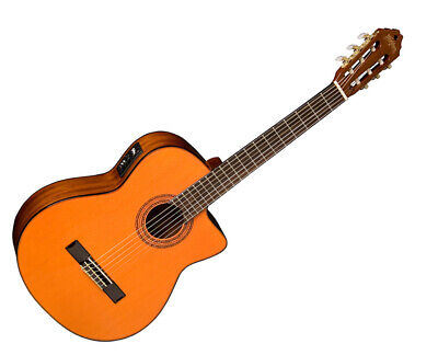 Washburn C5CE Classical Series Acoustic Guitar Natural --