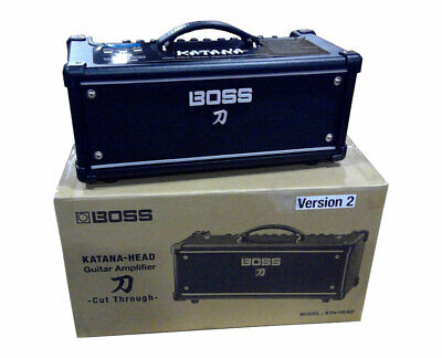 Boss Katana-Head 100-Watt Guitar Amplifier Head with Effects PROAUDIOSTAR - Used