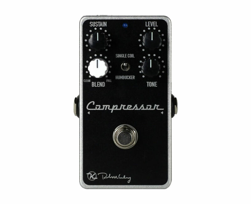 Keeley Compressor Plus With Added Tone And Blend Control Pedal