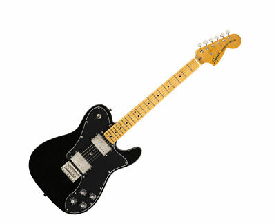Squier Classic Vibe '70s Telecaster Deluxe - Black w/ Maple FB - Used