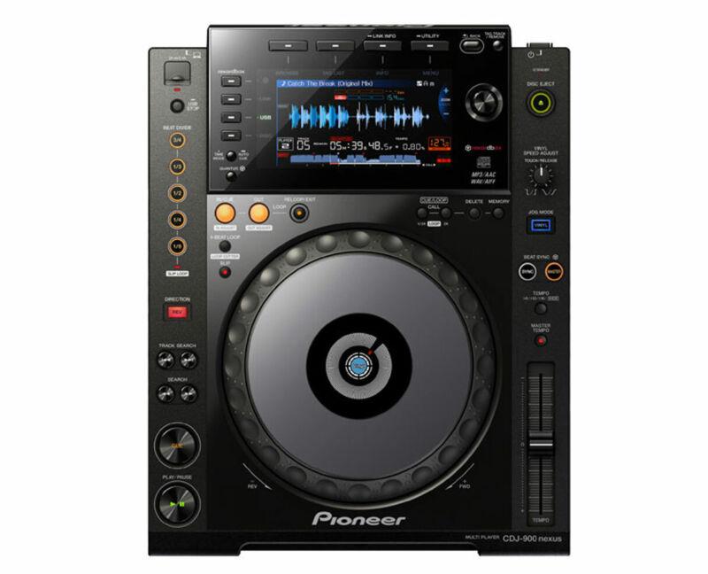Pioneer CDJ-900NXS CDJ900 Nexus Professional Multi-Player CD DVD DJ Controller