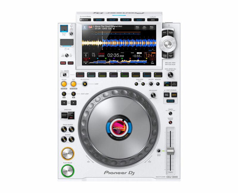 Pioneer CDJ-3000-W Professional DJ Multi Player (White) PROAUDIOSTAR