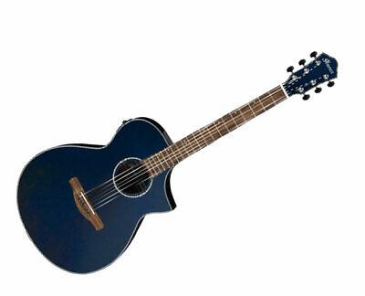 Ibanez AEWC10NMB AE Acoustic-Electric Guitar Night Metallic Blue Gloss