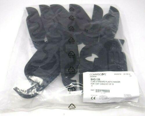"CommscopeBHD-158 I-Line Standard Plastic Hanger For 1-5/8"" Cable Kit Of 10"