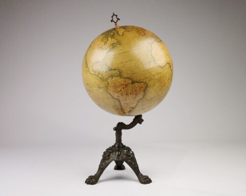 Terrestrial Globe – Lebègue, Paris, 19th century
