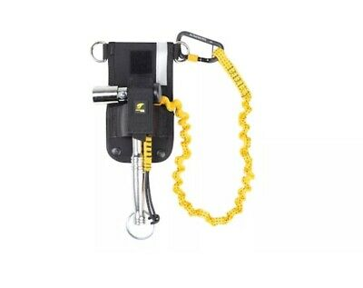 Dbi-sala Scaffold Wrench Holster With Retractor Belt Hook Loop Bungee 1500097