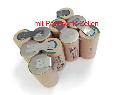 Akkupack für Ryobi 12V BPN-1213 1217 Panasonic 3000mAh NiMH zum Selbsteinbau