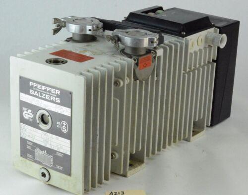 Pfeiffer Balzers Duo 004B Dual Stage Rotary Vane Vacuum Pump AEG