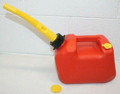 Vintage Scepter Vented Gas Can 1 Gallon Ab41 W Spout Mint Super Clean