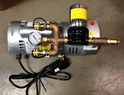 Ambient Air Pump0 To 15 Psihansen Air Systems International Bac-10