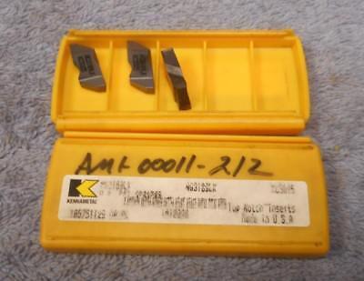 Kennametal  Carbide Inserts  Ng3189lk  Grade Kc5025 Pack Of 3