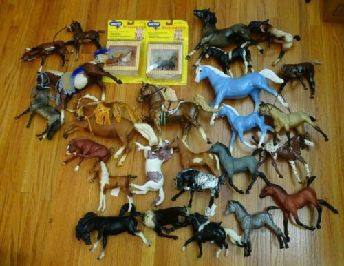 Breyer Horse Traditional and Custom Lot CM with some Tack etc.