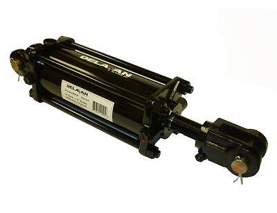 Delavan Pml4008-125asae 4 X 8 Hydraulic Tie-rod Cylinder Asae Certified