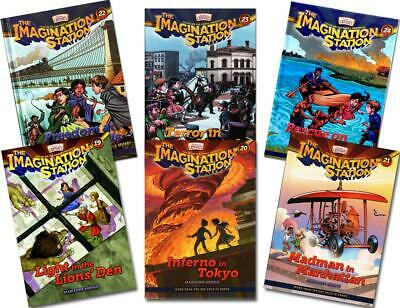 New IMAGINATION STATION 6 Book Set 19 20 21 22 23 24 Adventures in Odyssey