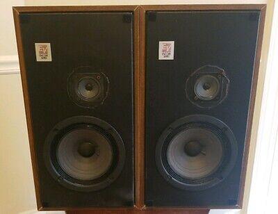 Electro Voice E-V Encore 33 Cabinet Speakers Vintage Excellent Sound