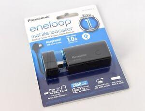 Panasonic Eneloop Mobile Booster/Power Bank 2850 mAh Black (NEW) Perth Perth City Area Preview