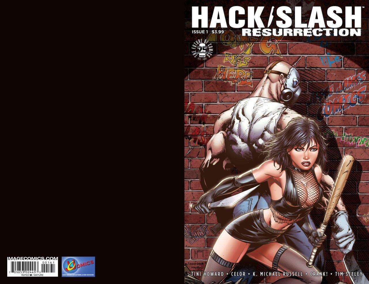 HACK / SLASH #1 RESURRECTION JESSE JAMES COMICS EXCLUSIVE LTD 500 COMIC BOOK
