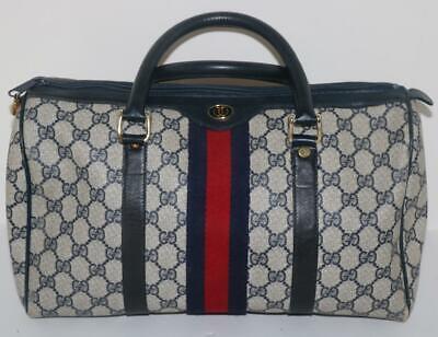 Vintage Gucci Accessory Collection Handbag Ophidia Web Boston Doctor FREE SHIP!