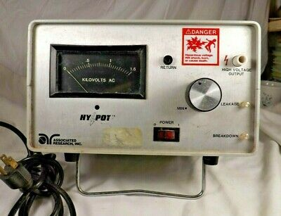 Associated Research Acdc Junior Hypot Tester 412ai