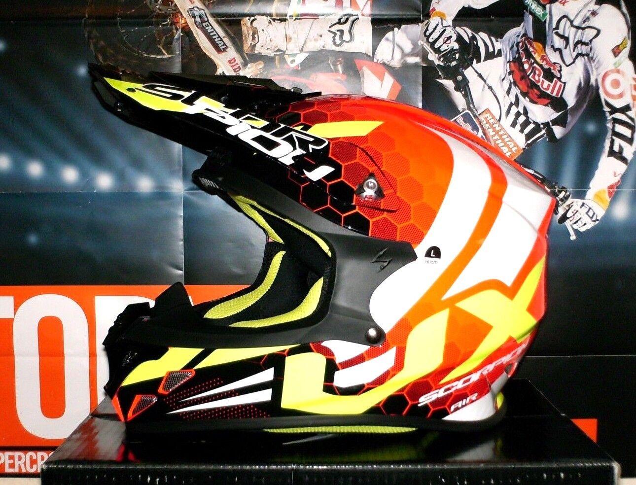 Scorpion 46-100-10-05 VX-16 Air Matt Black L