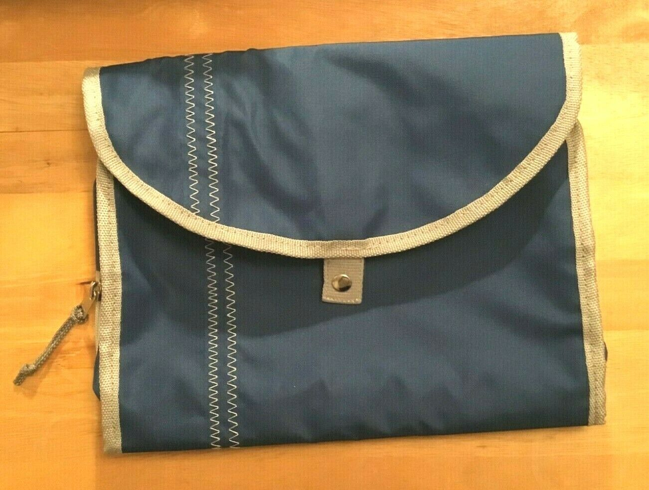 Men In Cities Nomad Hanging Toiltery Bag In Blue - $10.99