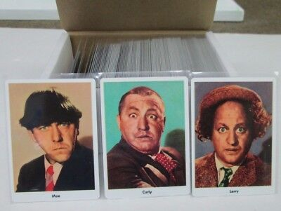 2017 Three Stooges 1959 RE-ISSUE  Fleer set  96 ALL METAL CARD SET only 25 made (Three Stooges 2017)