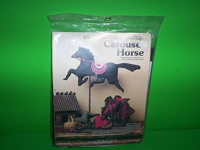 Vintage 1983 Carousel Horse A Soft Sculpture Sewing Kit by Yours Truly #2901 NIP