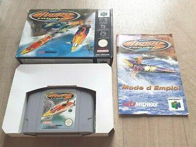 Hydro Thunder - Nintendo 64 N64 Midway - Complet - PAL FRA - Très Bon Etat