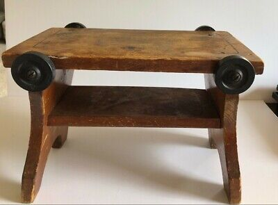 Used, RARE VTG Wooden Child's Chair Stool/Wagon Cart - Paris MFG Co. South Paris, Me for sale  Monticello
