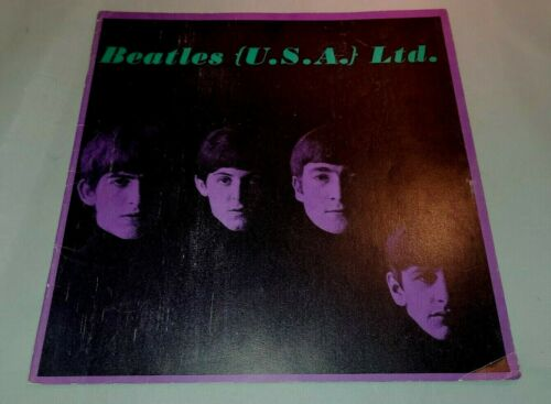 The Beatles USA Ltd 1964 Tour Program Book