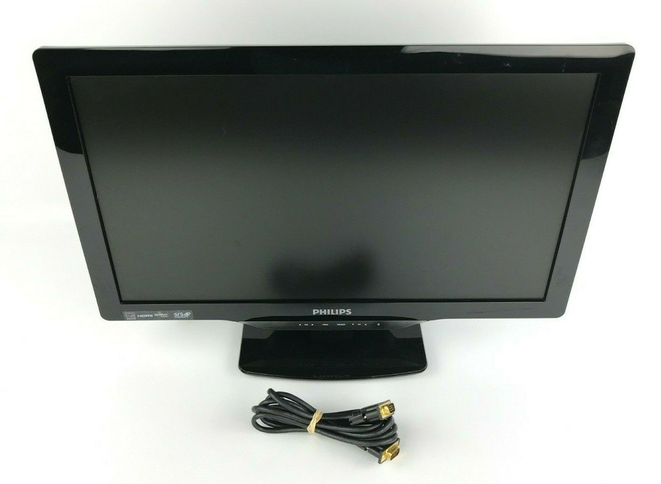 """Philips 22"""" LCD TV / Computer Monitor 22PFL4507/F7 - NO REMOTE"""