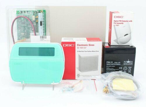 DSC Alarm System Kit SD 15W-ULF, RFK5501ENG, PC1616 Ver 4.6 L-100PI NEW OPEN BOX