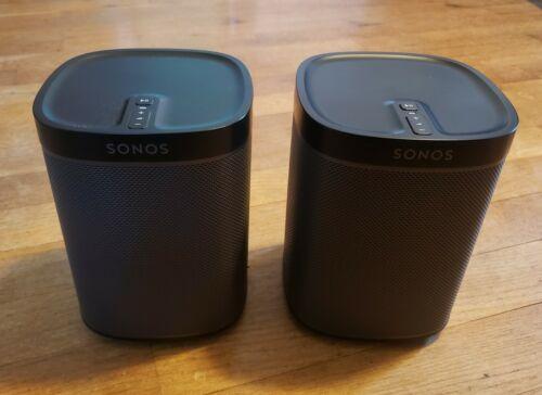 Sonos Play 1 - Wireless Speaker Pair - Black  - $227.50