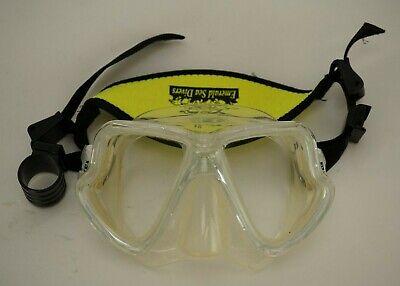 negativ Mares X-Vision Tauchermaske mit optischen Gläsern positiv u