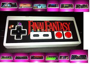 Nintendo-NES-Controller-Overlays-Custom-DieCut-Vinyl-Stickers-Zelda-Mega-Man