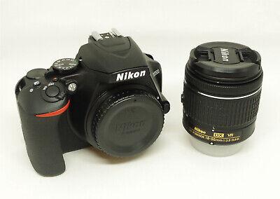 NIKON D3500Kit 18-55 mm VR 24,2 MP Spiegelreflexkamera Objektiv B-WARE