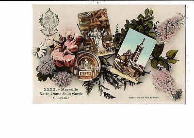 CPA-Carte Postale -France-Marseille- Notre Dame de la Garde-Souvenir - VM11305