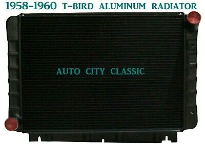 FORD THUNDERBIRD T-BIRD RADIATOR ALUMINUM 1958 1959 1960 BLACK