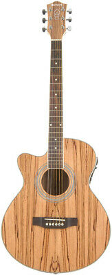 Native Zebrano Electro-Acoustic Guitar Left Hand