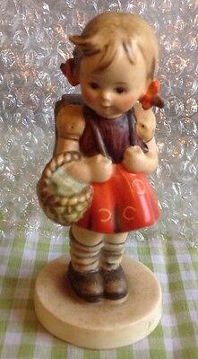 """Vintage Hummel Goebel Figurine """"School Girl"""" #81 2/0 TMK 3"""