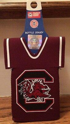 South Carolina Gamecocks Bottle Jersey - Fits Your Favorite 12 - 24 Oz (South Carolina Beverage)