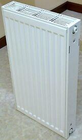 Steel Double Panel Radiator 70 x 40cm, UNUSED