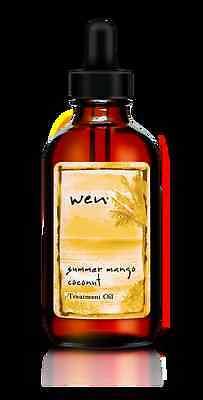 - WEN Treatment Oil Summer Mango Coconut 4oz  With Dropper