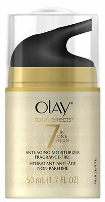 Olay Total Effects 7 In 1 Anti Aging Daily Moisturizer Fragrance Free 1 70 Oz