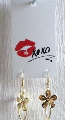 100 Boutique Earring Display Fashion Earrings Card Xoxo Red Lips Display Cards