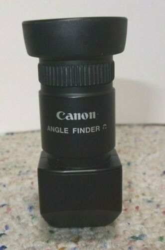 Canon Angle Finder C 1.25x-2.5x for EOS Camera Viewfinder