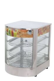 Mini Electric Hot Food display /Egg Tart Warmer Display New Commercial
