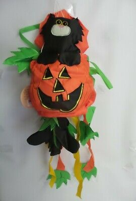 Halloween Surprise Kitty Cat Windsock by Evergreen. #40219, 12